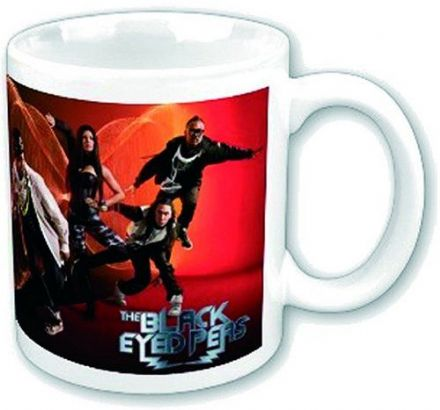 Black Eye Peas Band Photo Ceramic Mug